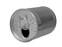 An empty can Royalty Free Stock Photos