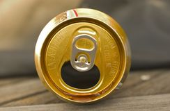 Empty Can. Empty Soda Can Royalty Free Stock Photography