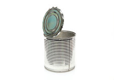 Empty can Royalty Free Stock Image