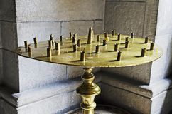 Empty candlestick Royalty Free Stock Image