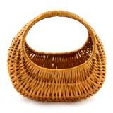 Empty cane basket Stock Photography