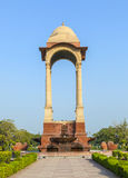 Empty canopy of George V at India Gate Royalty Free Stock Photography