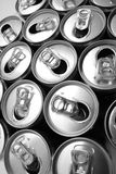 Empty cans Stock Photo