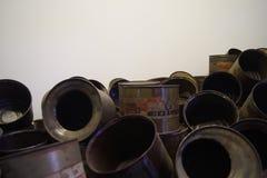 Auschwitz gas Stock Image