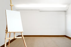 Empty canvas on an e Royalty Free Stock Photography