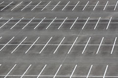 Empty car parking lot Stock Photos