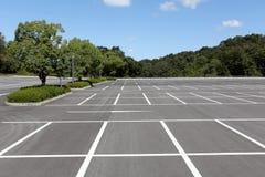 Empty car parking lot Stock Photos