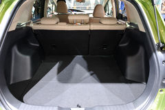 Empty car trunk. Empty trunk of the car Stock Images