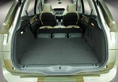 Empty car trunk Royalty Free Stock Photos