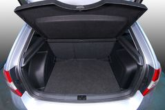 Empty car trunk Stock Photography