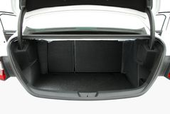 Empty car trunk Stock Images