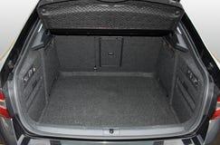 Empty car trunk Stock Image