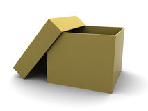 Empty carboard box Royalty Free Stock Photos