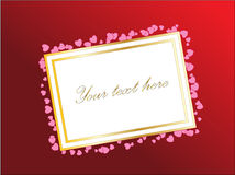 Empty Card For Your Design. Stock Photos