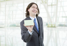 Empty card Royalty Free Stock Image
