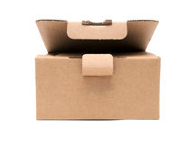 Empty cardboard box Stock Photos