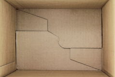 Free Empty Cardboard Box, 3d View Stock Image - 27799771