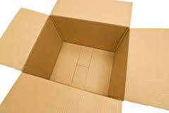 Empty Cardboard Box Four Royalty Free Stock Photos