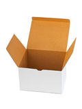 Empty cardboard box Stock Image