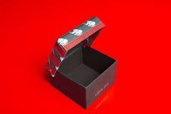 Empty cardboard gift shrine Royalty Free Stock Image
