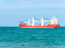 Empty cargo ship Royalty Free Stock Photography