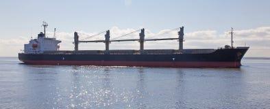 Empty cargo ship Stock Photos