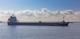 Empty cargo ship Royalty Free Stock Photo