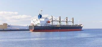 Empty cargo ship Stock Photography