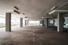 Empty Carpark Area. An empty floor in a multi-storey carpark Stock Images
