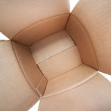 Empty Carton Box - Stock Photo Stock Images