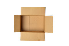 Empty carton Royalty Free Stock Images