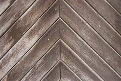Empty cater-cornered dark brown wooden background. Or texture royalty free stock images