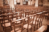 Empty cathedral Royalty Free Stock Images