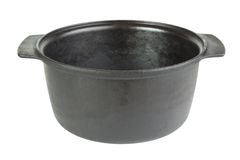 Empty cauldron Stock Image