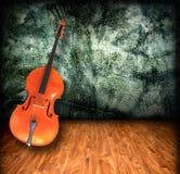 Empty Cello Room Interior Stock Photography