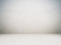 Empty cement room in perspective view, grunge background Royalty Free Stock Photo