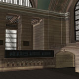 An Empty Central Station Royalty Free Stock Image