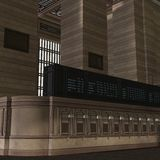 An Empty Central Station Stock Image