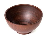 Empty ceramic bowl Royalty Free Stock Photography