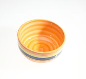 Empty ceramic bowl Royalty Free Stock Images