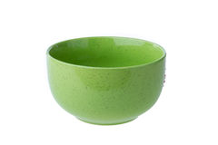 Empty ceramic bowl Royalty Free Stock Image