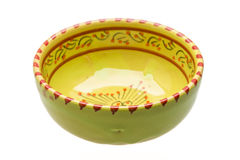 Empty ceramic bowl Royalty Free Stock Photo