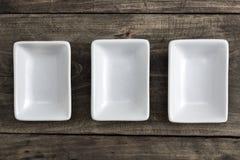 Empty ceramic bowl Stock Photo