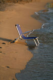 Empty chair on a beach Stock Photography