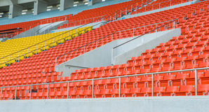 Empty Chair at Grandstand Stock Images