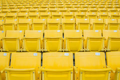 Empty Chair at Grandstand Royalty Free Stock Photos