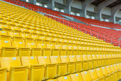 Empty Chair at Grandstand Royalty Free Stock Images