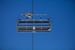 Empty Chair lift Royalty Free Stock Photo