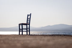 Empty chair. Royalty Free Stock Image