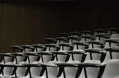 Empty chair in the room for the seminar. Or a classroom Stock Image